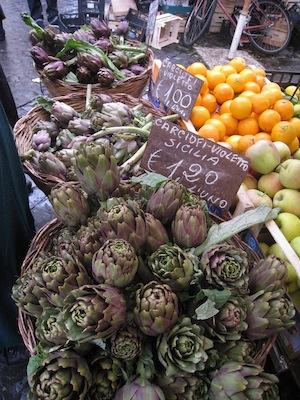 artichokes in Rome