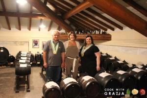 DOP balsamic vinegar production