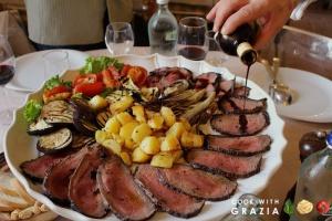 Aceto Balsamico Tradizionale su carne arrosto