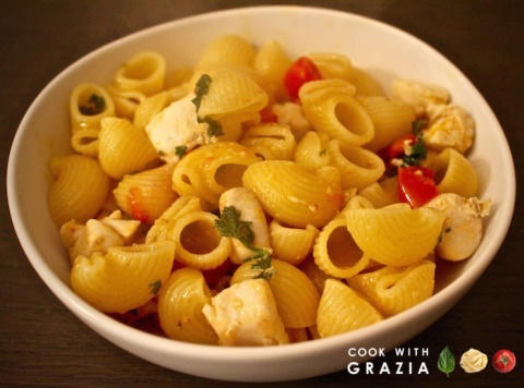 pasta fish sperm