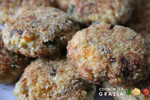 croquettes with turkey leftovers