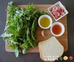 ingredients dandelion