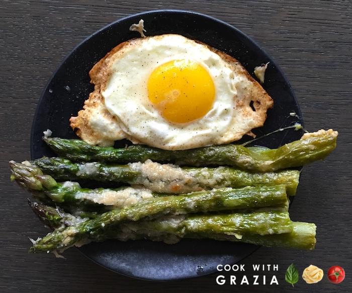 park eggs asparagus