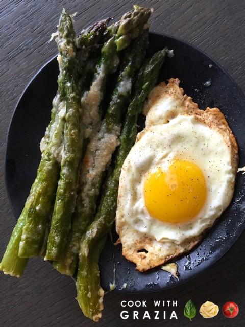 asparagus eggs parmigiano