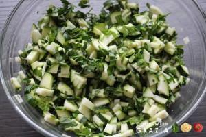 zucchini herbs mix